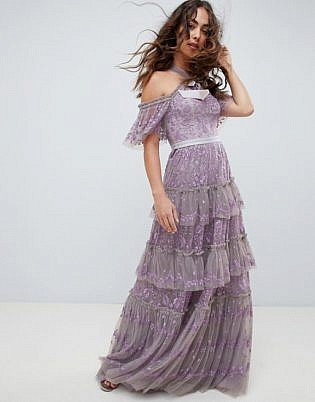 lavender tones fashion design